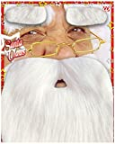 SANTA Dwarf Fancy Dress Beard (Kostüm Zubehör)