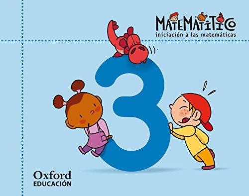 Matematitico 4 Años Pack Cuaderjo de Ejercicios 3 Alum (Matematítico) - 9788467395570