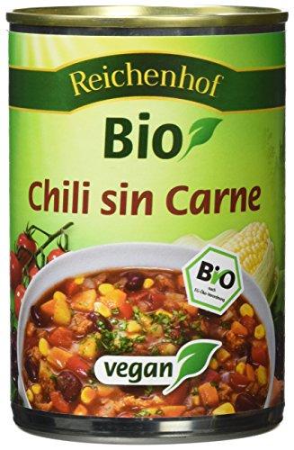 Reichenhof Chili sin Carne vegan, 3er Pack (3 x 400 g)