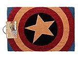 Fußmatte/Batman/Kokos/Kokosfaser/Fußabtreter Superman/Star Wars Fußvorleger/Fussmatte AC/DC von Alsino (14/2107 Captain America)