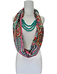 Vozaf Cotton Twill.Necklace Paisley Print