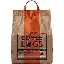 Caffè tronchi–16Winter Fuel Logs Made from Recycled Coffee–per una temperatura e durano a