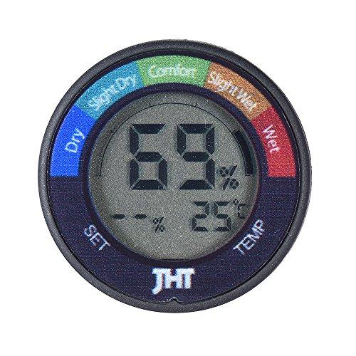 ammoon Mini Instrument Digital Feuchte und Temperatur Sensor Prüfvorrichtung Thermometer Hygrometer mit LCD Display für Klavier Gitarre Violine -