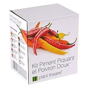 Il Kit Peperoni e Peperoncini di Plant Theatre - 6 diverse varietà da coltivare - Regalo ideale