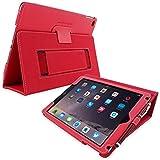 Snugg iPad Pro 9.7 Hülle (Rot), Smart Case Sleep/Wake Funktion