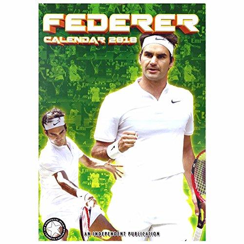 Neue Roger Federer Tennis-Genie 2018 Kalender