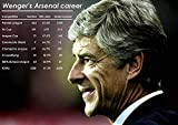 Ulterior Clothing Arsene Wenger Arsenal Record A1 A2 A3 Poster