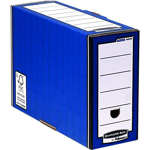 Bankers Box Premium Archivschachtel (127mm, Fastfold System) 10 Stück blau -