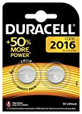 Duracell DL2016B2 Lithium Battery (Pack of 2)