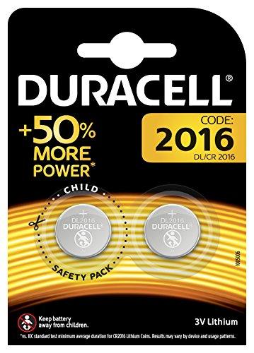 Galleria fotografica Duracell Batterie al Litio Specialistiche a Bottone, Stilo 2016, Confezione da 2