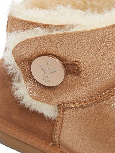 Rosegold Bottes Femme pour W11255 Marron EMU vPTAzf