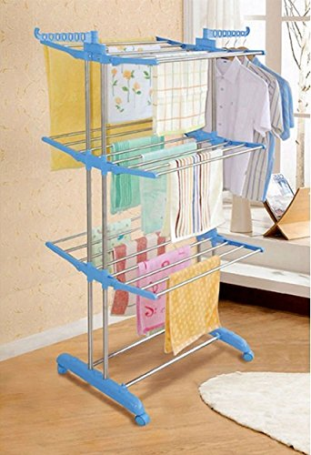 PAffy Clothes Drying Stand - Stainless Steel - Jumbo