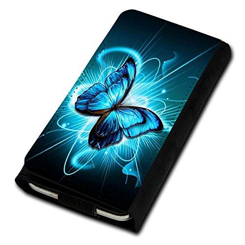 Book Style Flip Handy Tasche Case Schutz Hülle Foto Schale Motiv Etui für Medion Life E4503 - Flip U3 Design2