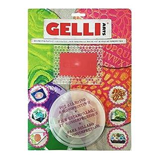 Gelli Arts Round Printing Plate Mini Kit, Multicoloured