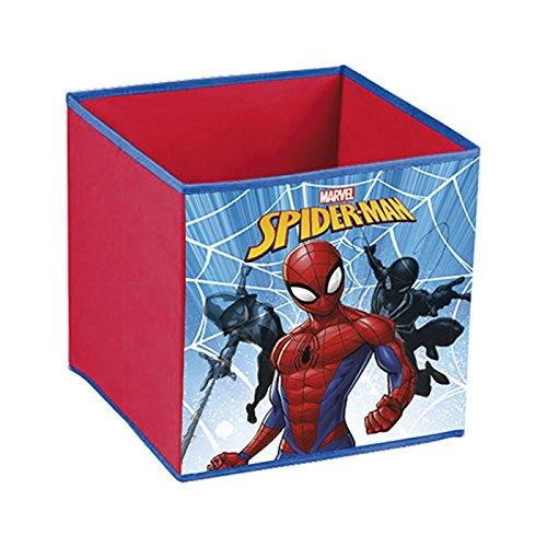 Spiderman–Baúl para juguetes almacenamiento plegable el hombre araña Spiderman