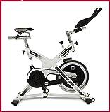 BH Fitness SB2.2 H9162 Indoorbike, Indoorcycling, 20 kg Schwungmasse, LCD Monitor, PolyV-Riemen