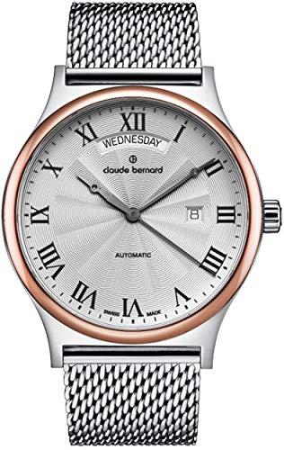 Claude Bernard by Edox Classics Men's Automatic Watch 83014.357RM.AR1 Swiss