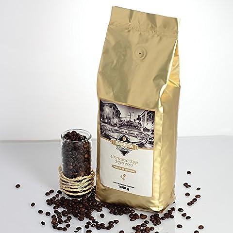 Barista Italiano–Café en Granos mezcla cremoso Top de espresso conf kg