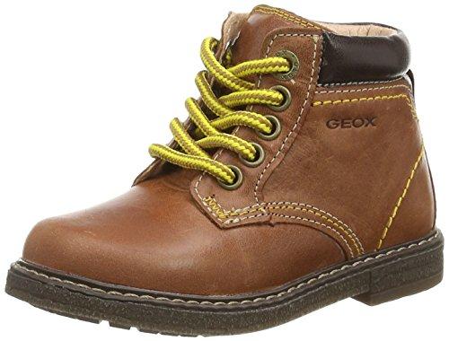 GeoxB GLIMMER D - Pantofole primi passi Bimbo 0-24 , Marrone (Braun (C6054BRANDY)), 26