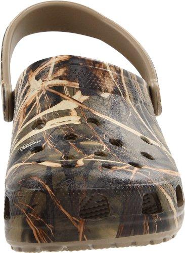 Crocs Classic Realtree Herren Clogs Braun (Khaki)