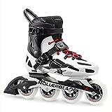 Rollerblade Herren Maxxum 90Fitness Inline Skate, schwarz/weiß, Gr. 9,5