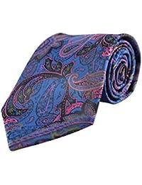 Cachemire pour homme Multicolore Tie Cravate en soie italienne