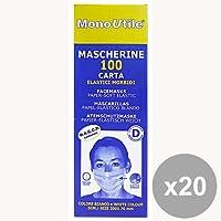 Set 20 ESTETICA Mascherina Monouso Carta * 100 Pezzi BRENTA Prodotti per capelli preisvergleich bei billige-tabletten.eu