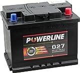 027 Powerline Autobatterie 12V