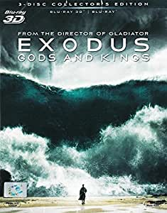 Exodus : Gods And Kings (3D+2D) (Blu-Ray) (Combo) Christian Bale, Joel Edgerton, John Turturro, Aaron Paul, Ben Kingsley