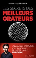 Les secrets des meilleurs orateurs de Michel Lévy-Provençal