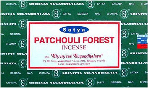 Räucherstäbchen Satya-Patchouli Forest - 12 x 15 g