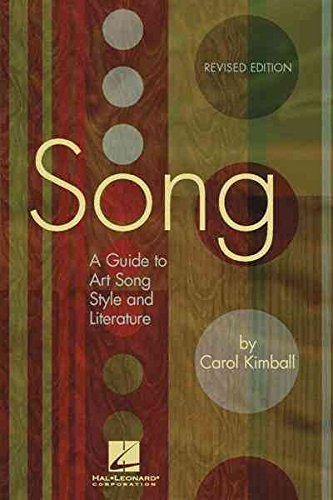 t, Song, Style and Literature] (By: Carol Kimball) [published: December, 2006] (Carol Kimball Song)