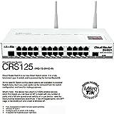 #4: MIKROTIK CRS125-24G-1S-2HND-I Mikrotik CRS125-24G-1S-2HnD-IN, Cloud Router Gigabit Switch L3 2 MikroTik Cloud Router Switch CRS125-24G-1S-2HnD-IN