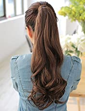 Raaya Curly Wrap Around Ponytail Hair Extensions for Women