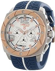 Techno Sport Chrono reloj unisex - plateado/azul