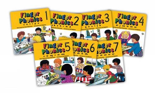 Finger phonics books. Per la Scuola elementare: Books 1-7 (Jolly Phonics)