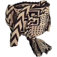 Mochila Wayuu - Bolso cruzados de Lana para mujer