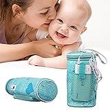 Per Calentador Biberones Coche Portátil para Leche Calienta Biberones para Alimentos Bebés Calientabiberones para Boetella de Leche Infantiles