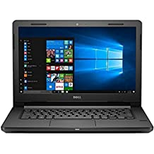Dell Vostro 3468 14-inch Laptop (7th Gen i3/4GB/1TB/Windows 10/Integrated Graphics), Black with Preinstalled Microsoft Office Home & Student 2016