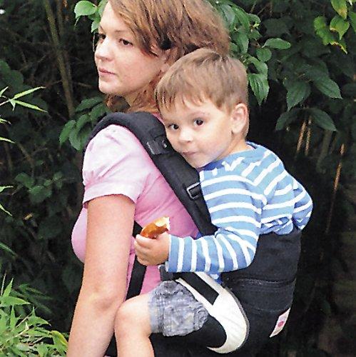 Babytrage Manduca 222-02-42-000, rot - 11