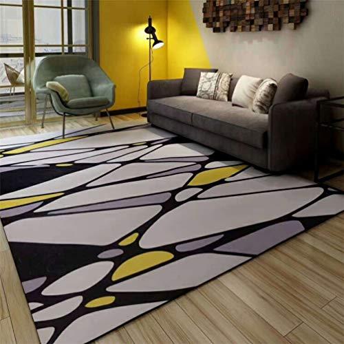 Teppich für einfache geometrische Wohnzimmer Schlafzimmer 3D Druck Teppich nordische Muster Bodenmatte Foyer Bodenmatte