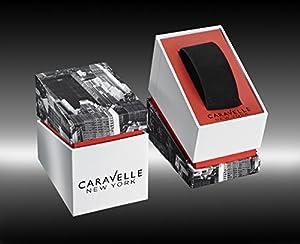 Caravelle New York 43B138 - Reloj de Cuarzo para Hombre, correa de Acero inoxidable color Plateado de Caravelle New York