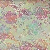 Fabric Freedom Yellow Fusion Design 100% Baumwolle Bali Batik Tie Dye Muster Stoff für Patchwork, Quilten &,–(Preis Pro/Quarter Meter)