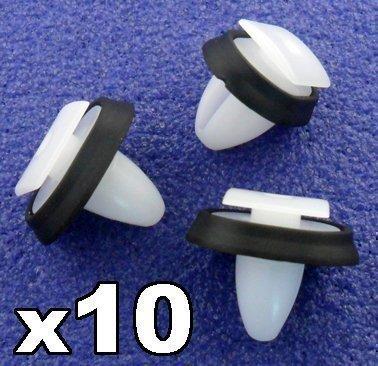 10 x Clips Agrafe Plastique - Garnissages / Habillages - CITROEN RELAY 856543 / PEUGEOT BOXER 71728806 / FIAT DUCATO 856543 - LIVRAISON GRATUITE!