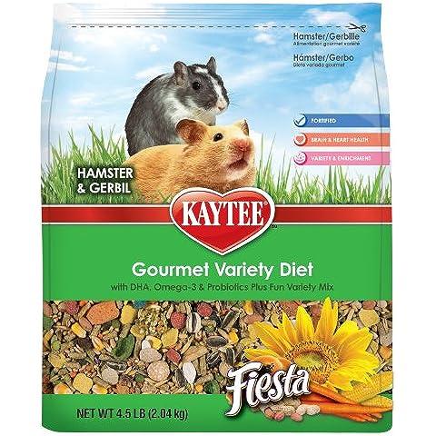 Kaytee Fiesta Max Hamster/gerbil 4.5lb (5 Lb Hamster)