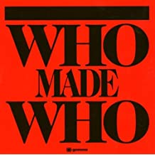 WHO MADE WHO - Whomadewho -CD Album
