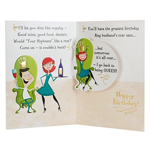 Favorito Hallmark - Biglietto d'auguri per compleanno marito, pop-up  RN53