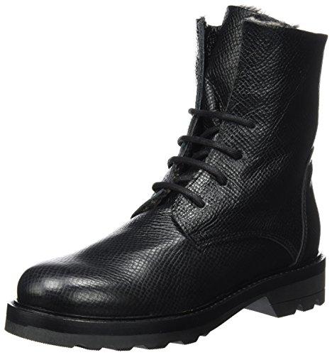 Lili Mill México, Biker Boots Women Black (negro)