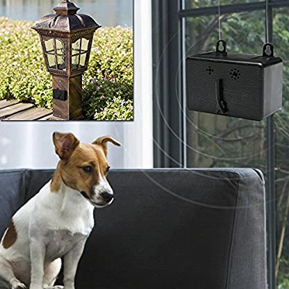 AOLVO Outdoor Anti Barking Device, (MT) New Model Mini Ultrasonic Dog Bark Control Sonic Bark Deterrents, Dog Silencer… 9