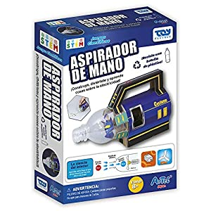 Toy Partner Artec CREA tu aspiradora Color Azul 95060